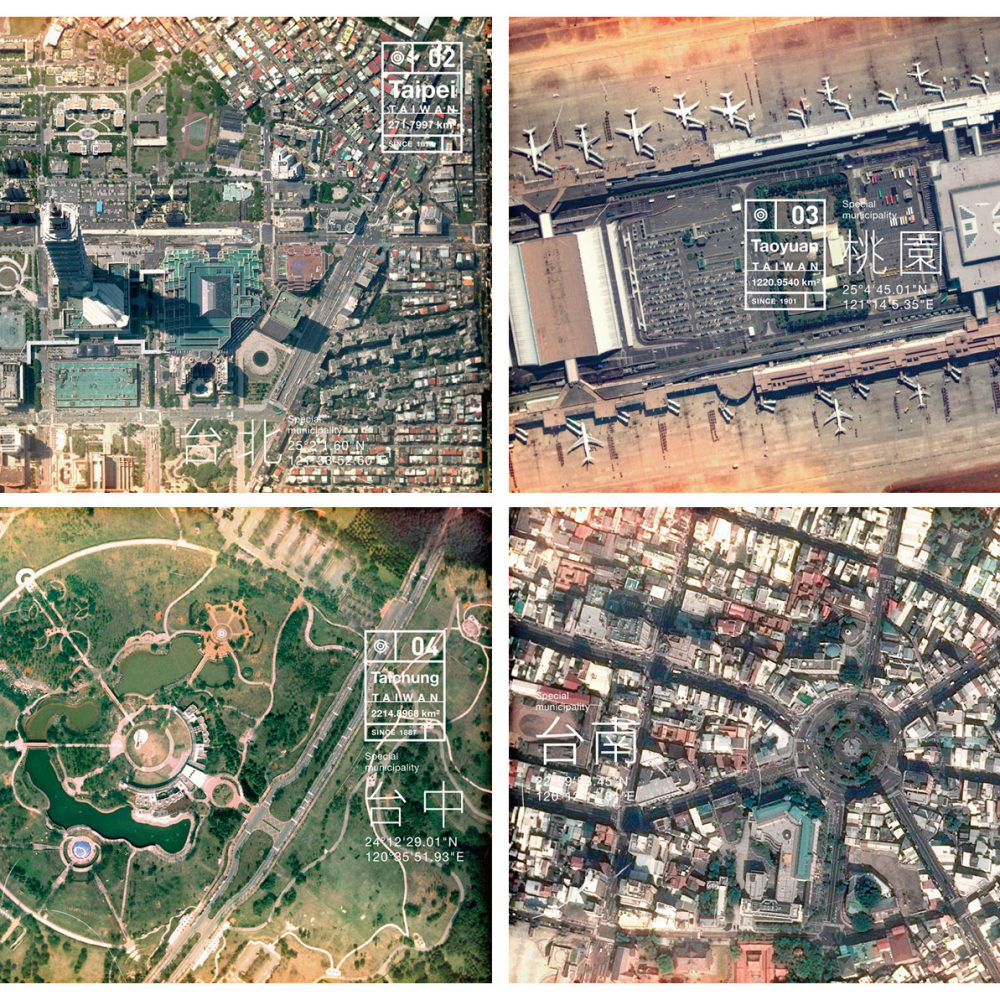 明信片 城市地圖