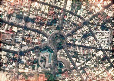 明信片 城市地圖 台南