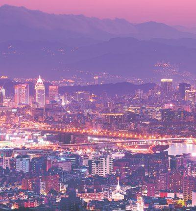 台灣風景明信片 台北.城市夜景