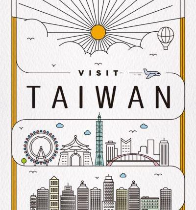 明信片 城市旅行