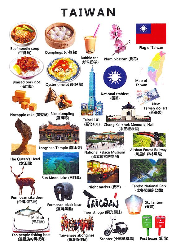 Icons of Taiwan