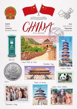 China 中國明信片