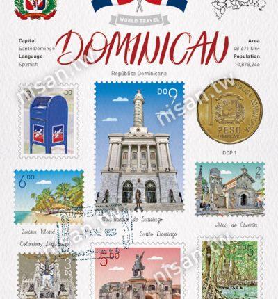 WT 多明尼加 明信片 Dominican Republic